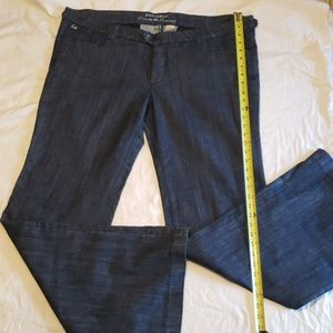 NWOT Jeans Parasuco Dark wash Tall Flare Wide leg